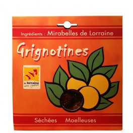 Grignotines: Half dried and soft mirabelle plums 250g