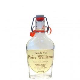 Flasque Eau de vie poire Williams 20cl 45% vol