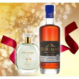 DUO Offer Parfum l'Or du Verger + Whisky Rozelieures Origine Collection